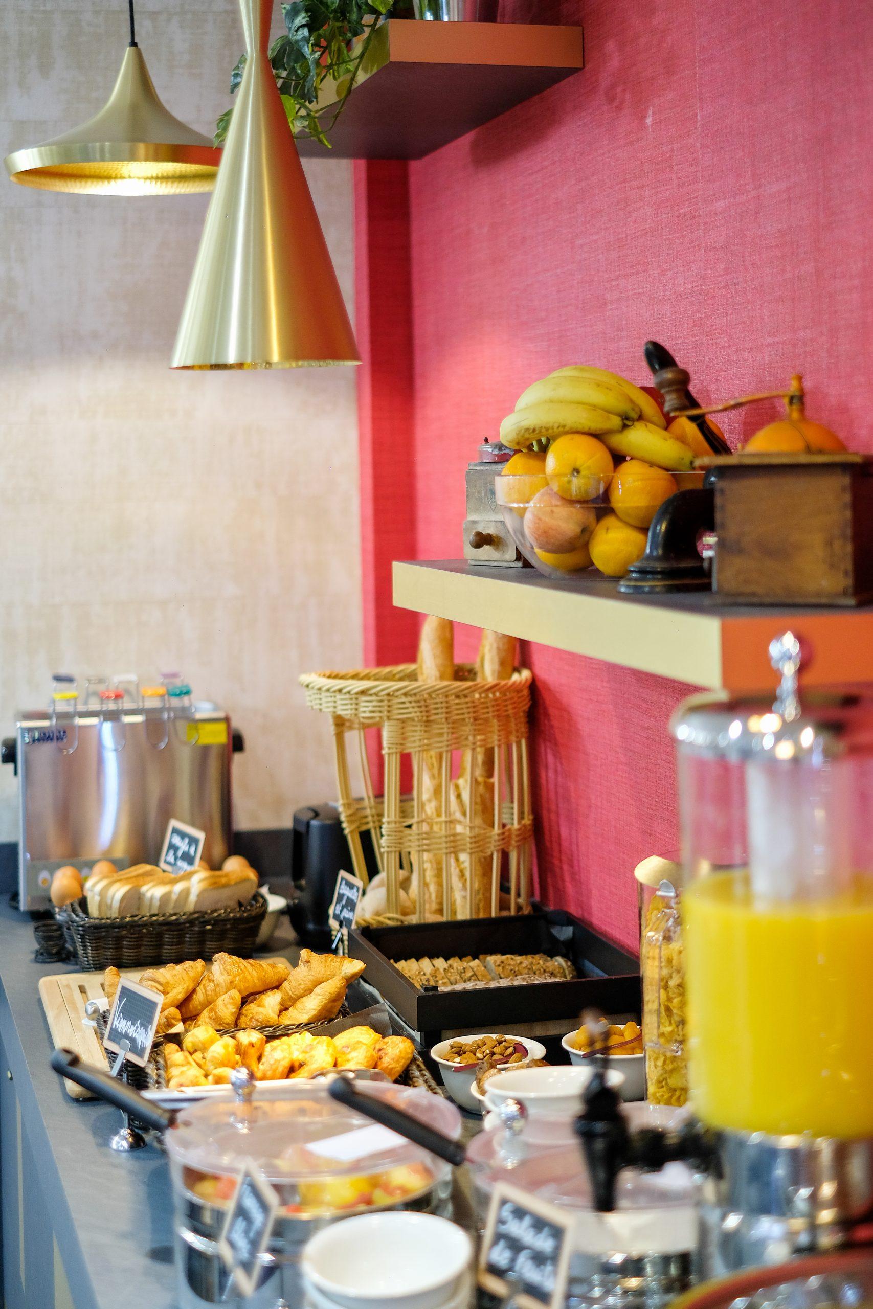 Hotel Lucien & Marinette - Buffet pdj 4