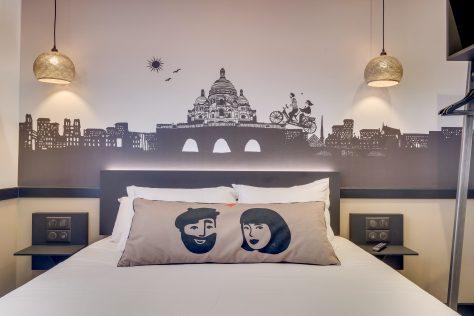 Hotel Lucien & Marinette - Chambre Double-Beige-002