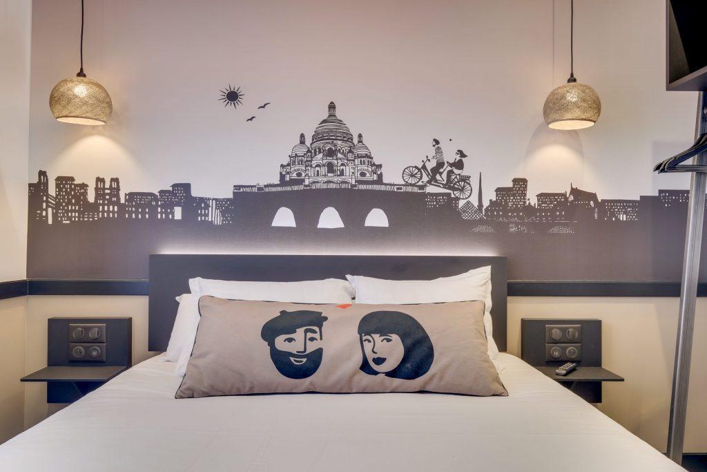 Hotel Lucien & Marinette - Double beige 002