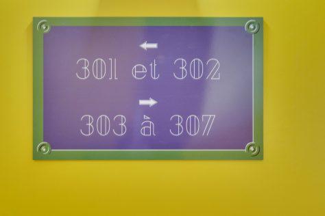 Hotel Lucien & Marinette - Plaque Signalitique