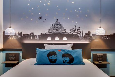 Hotel Lucien & Marinette - Tete de lit pixlum 2