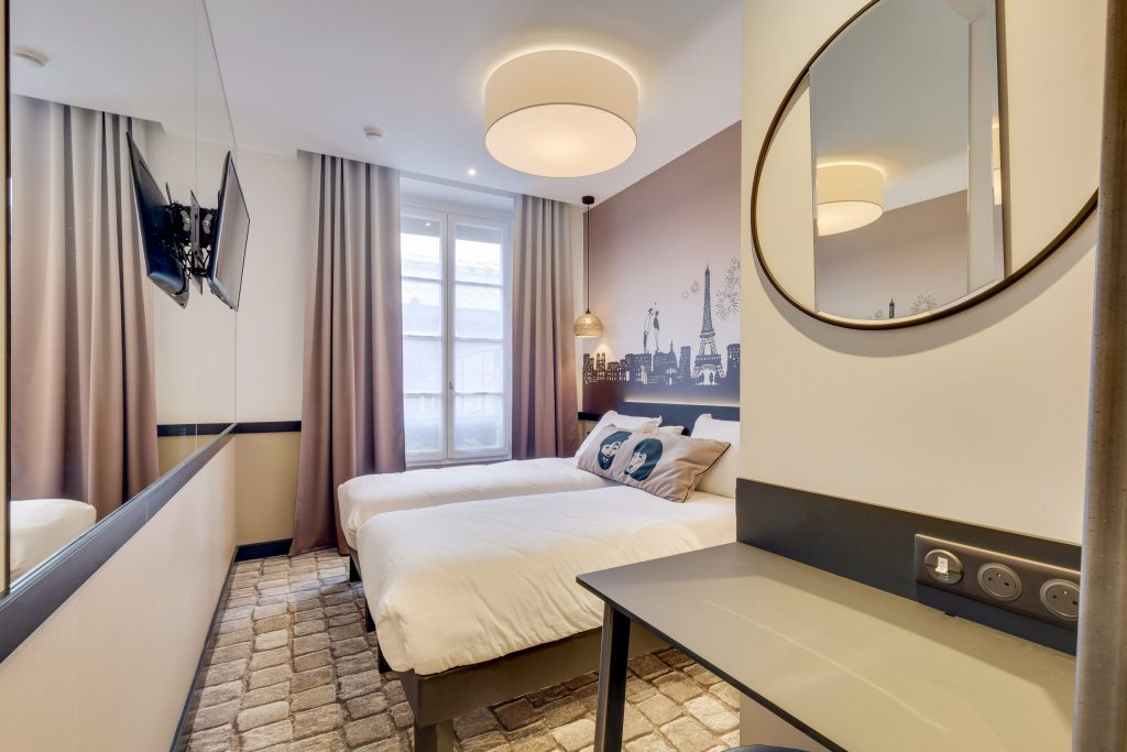 Hotel Lucien & Marinette - Twin beige 2