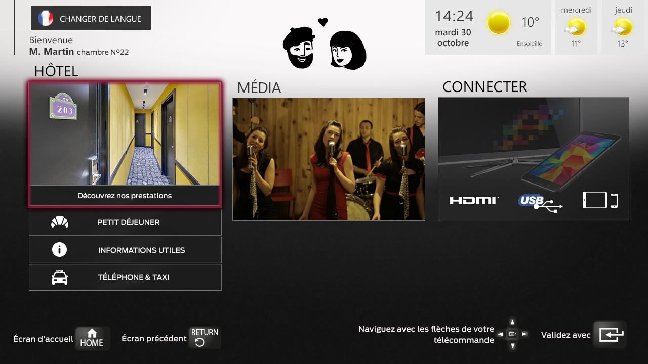 Hotel Lucien & Marinette - IPTV